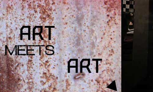 ART MEETS ART LEAFLET