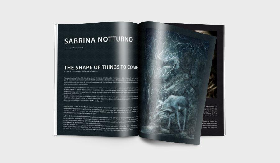 Brochure Napapijri Sabrina Notturno art at Lazzari Treviso